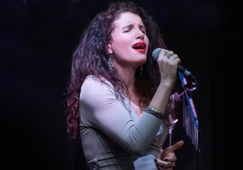 Emotional singer