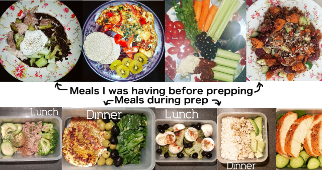 Meals pre-post prep