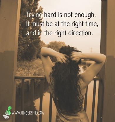 Trying Hard