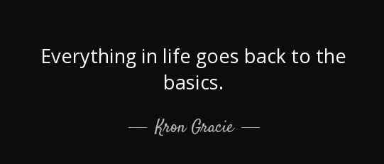basics quote